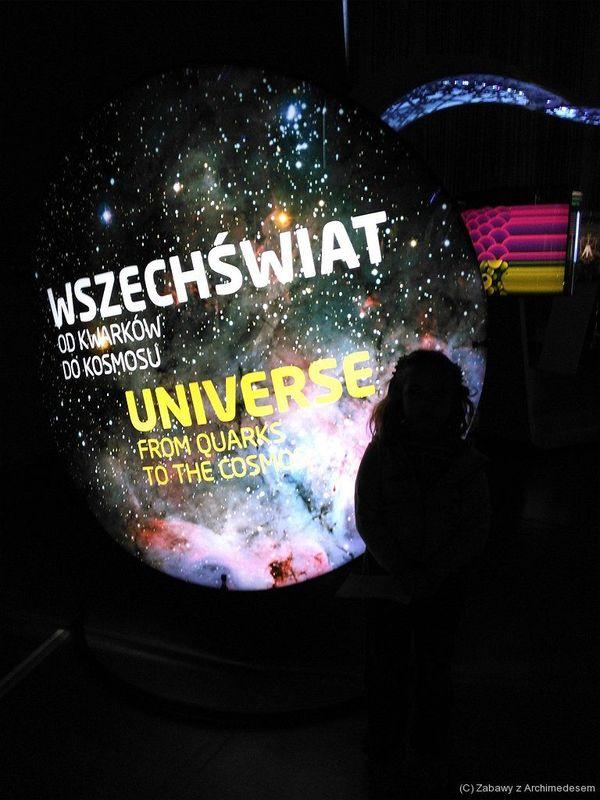 Wystawa Max Planck Science Tunnel w Muzeum Lotnictwa Polskiego w Krakowie