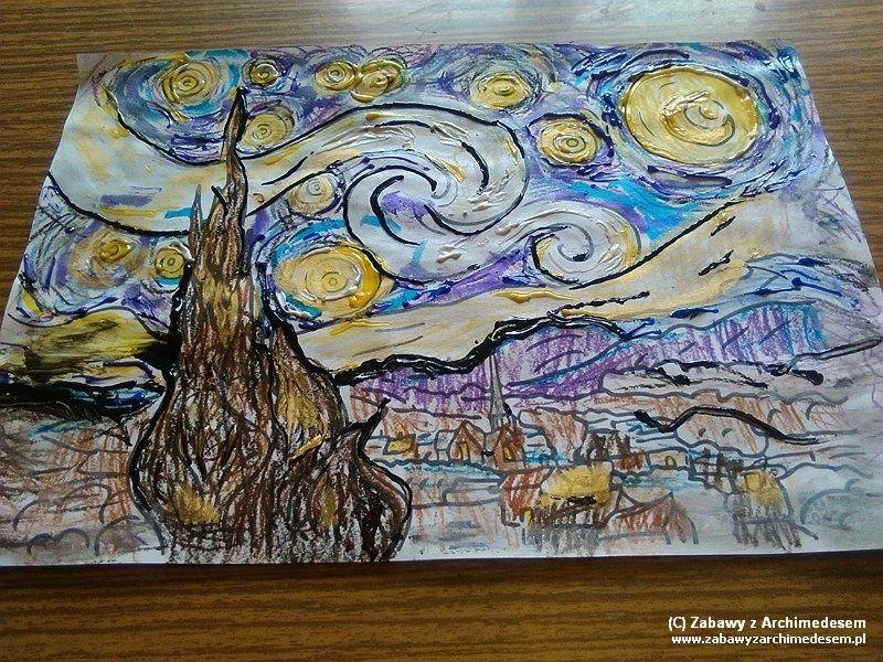 Sztuka Oswajania Sztuki Vincent Van Gogh Zabawy Z Archimedesem