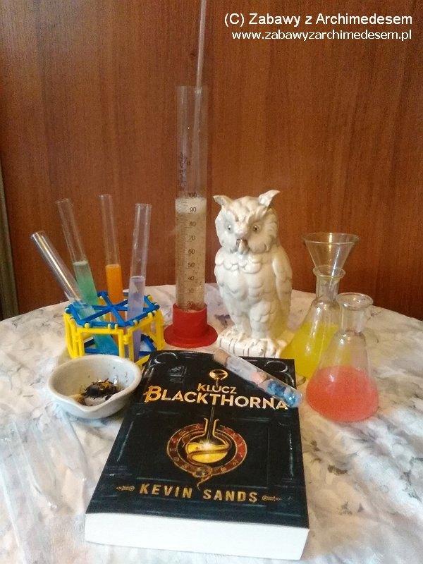 Kevin Sands - Klucz Blackthorna czyli historia która wstrząsnęła światem