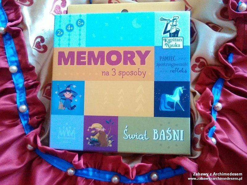Świat Baśni czyli Memory na 3 sposoby