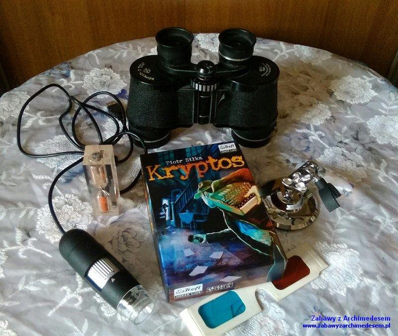 Gra Kryptos - Trefl Kraków