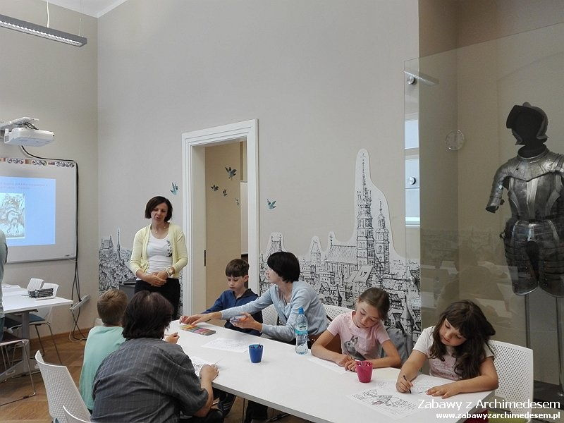 Tropem Smoka Wawelskiego igroźnych Tatarów