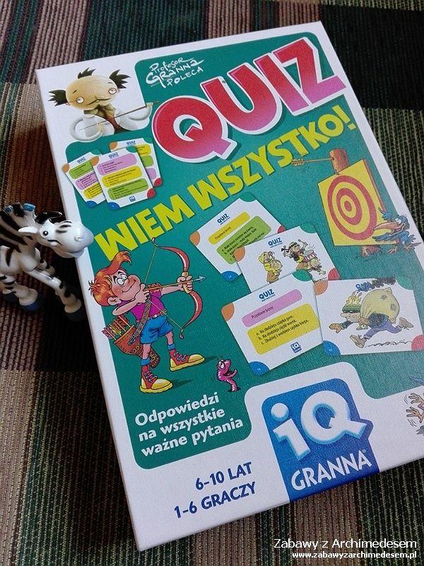 IQ Granna - Quiz Wiem Wszystko