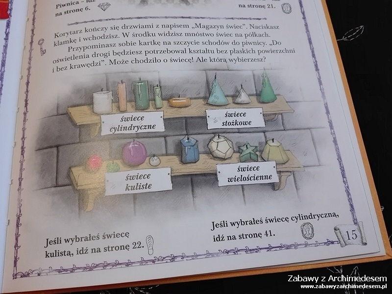 Matematyczne śledztwo. Zamek Zagadek