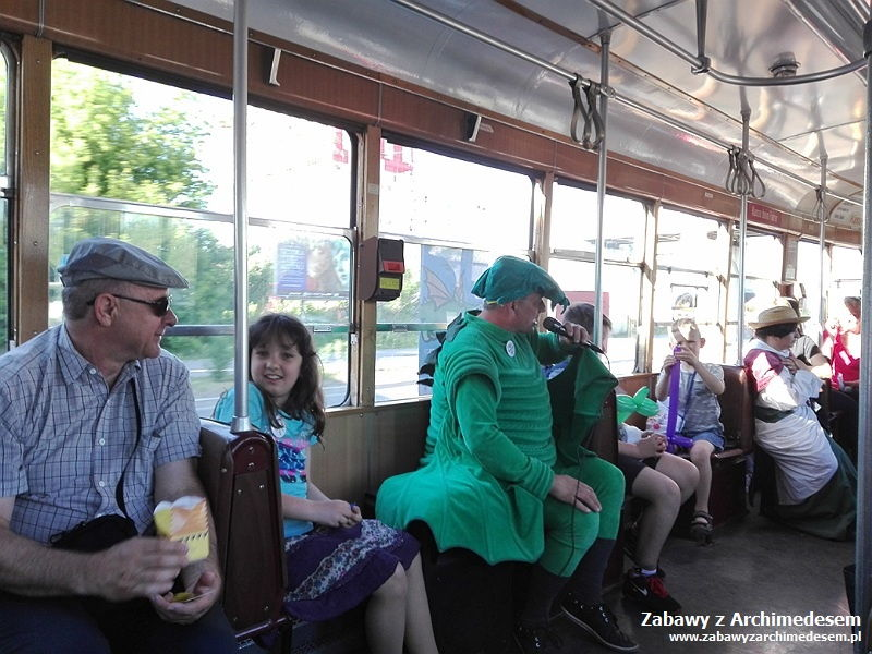 literacki tramwaj