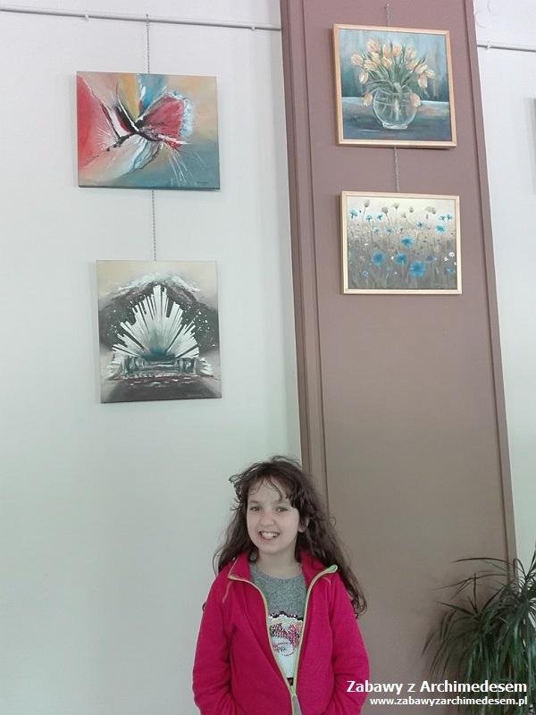 Wystawa malarstwa Grażyny Sobierajskiej