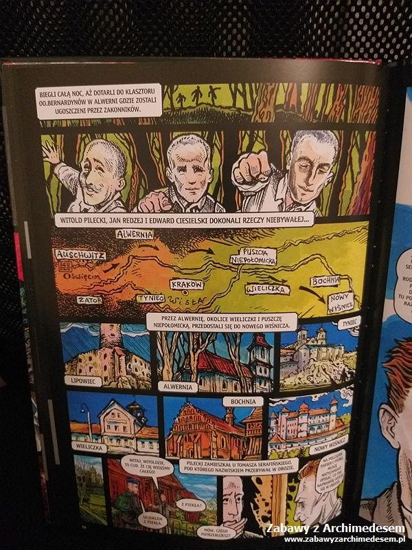 Rotmistrz Pilecki w komiksie