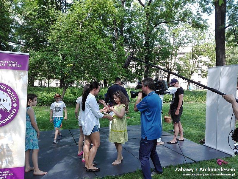 Piknik w Parku Krakowskim
