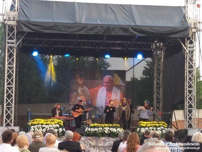 Studenckie życie: 40 rocznica (pierwszej) wizyty Jana Pawła II WNowej Hucie