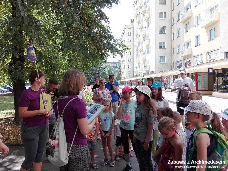 Spacerem poNowej Hucie zKids In Kraków