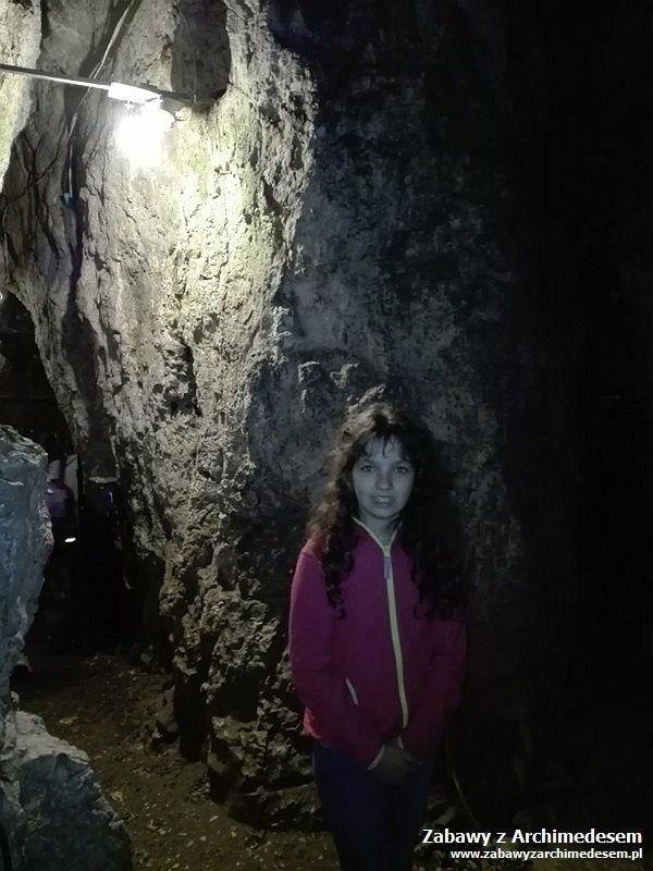 Smocza Jama - trening młodego speleologa