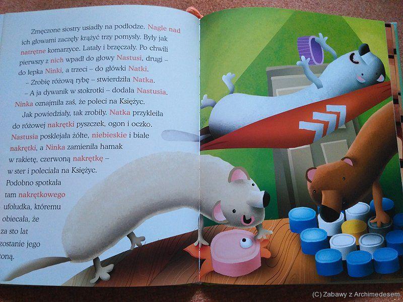 Kura Adela. Jak kura połknęła hipopotama