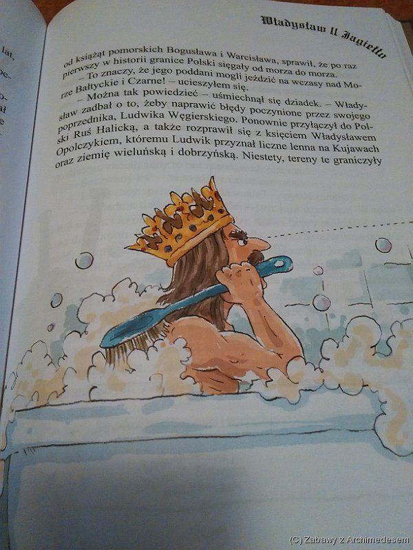 Jagiełło podprysznicem
