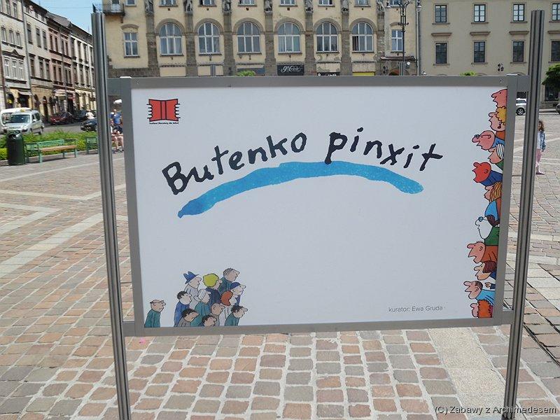 Festiwal Literatury dla Dzieci Wystawa Butenko Pinxit