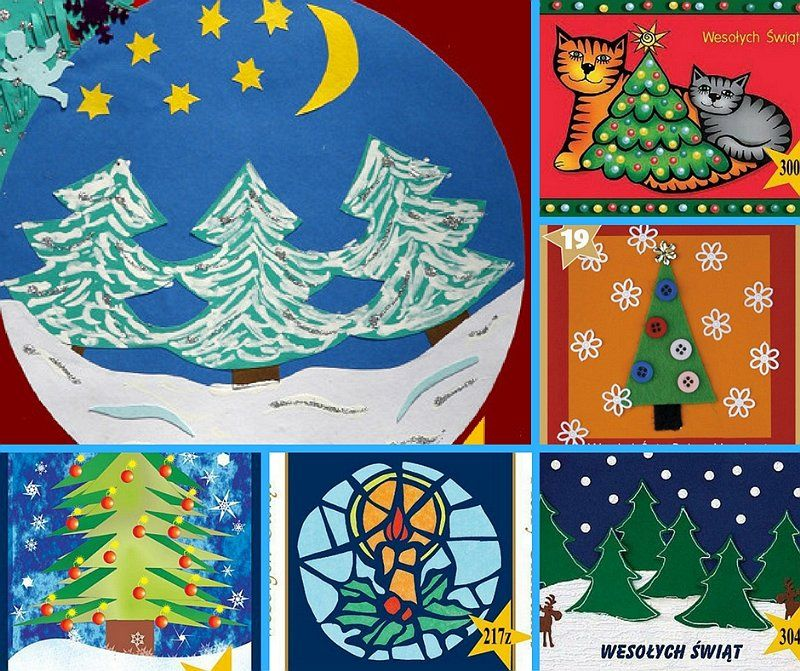 konkurs na projekt kartki bożonarodzeniowej