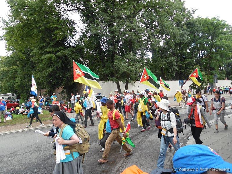 Pielgrzymi zMozambiku