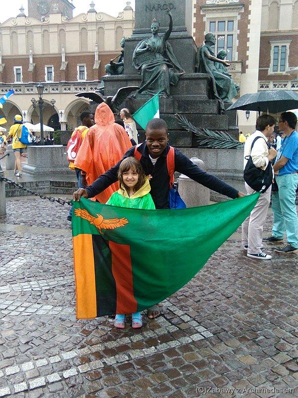 Pielgrzym zZambii