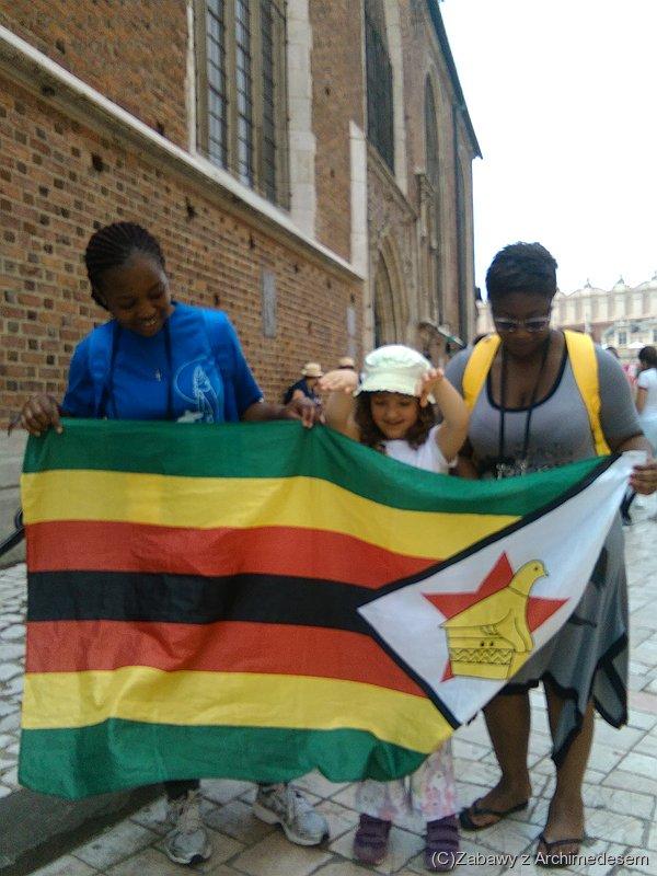 Pielgrzymi zZimbabwe